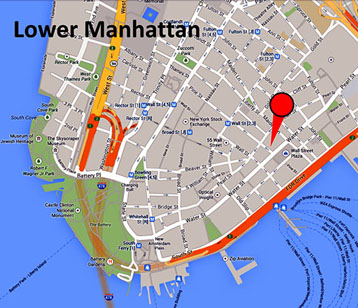 Lower Manhattan: 80 Pine Street, New York, NY 10005